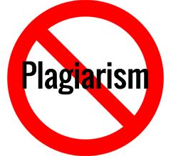 Plagiarism.