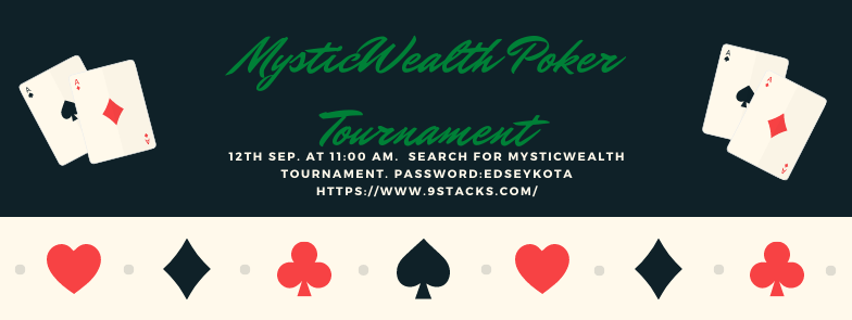 MysticWealth Poker Tournament